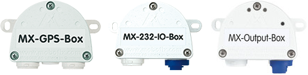 Интерфейсные модули - GPS-Box, Overvoltage-Protection-Box, Input-Box, Output-Box